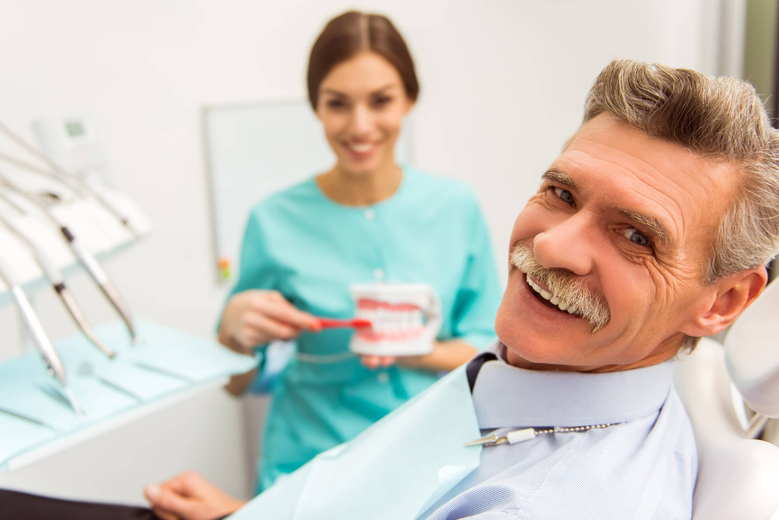 Dentures and Bridges and Implants… Oh My!